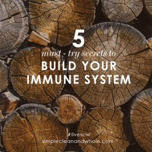 5 Must-Try Secrets to Build Your Immune System by Jen Meister