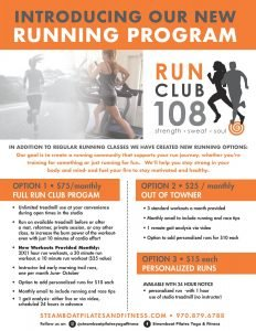 Introducing our new Running Program...Club 108 RUN! @ steamboat pilates yoga & fitness | Steamboat Springs | Colorado | United States